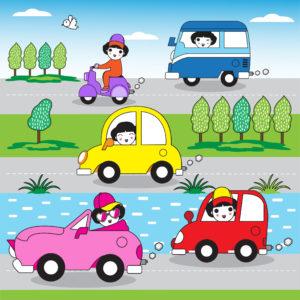 人生は車の運転に似ている。